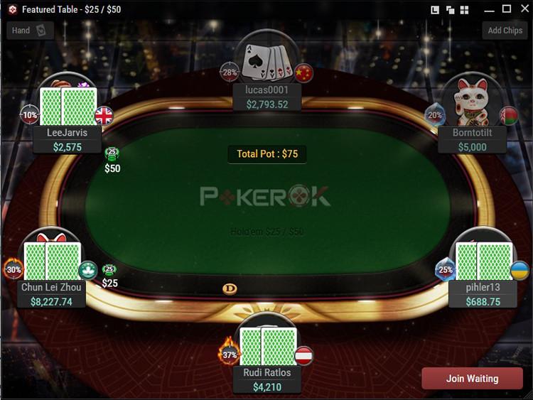 Покерный клиент ПокерОК